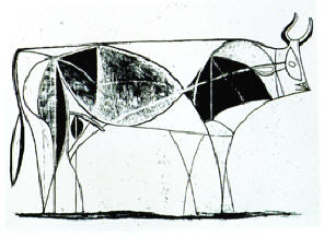 Picasso's Bull #08