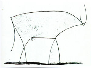 Picasso's Bull #11